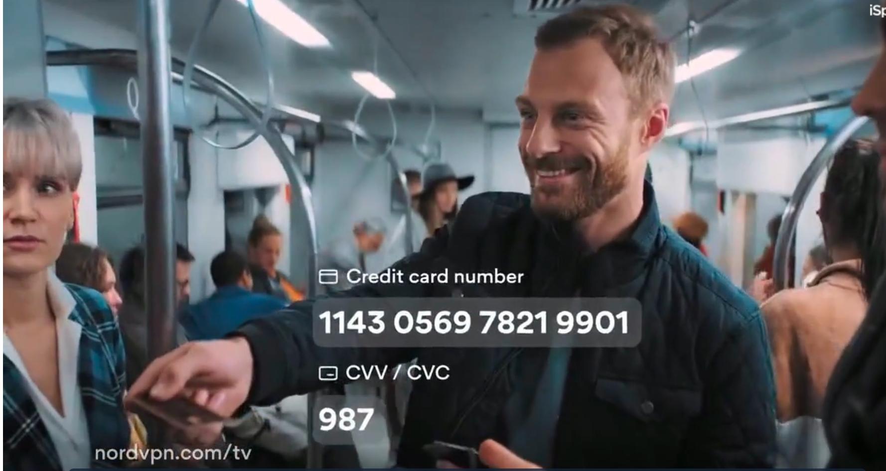 nordvpn credit card theft on subway underground