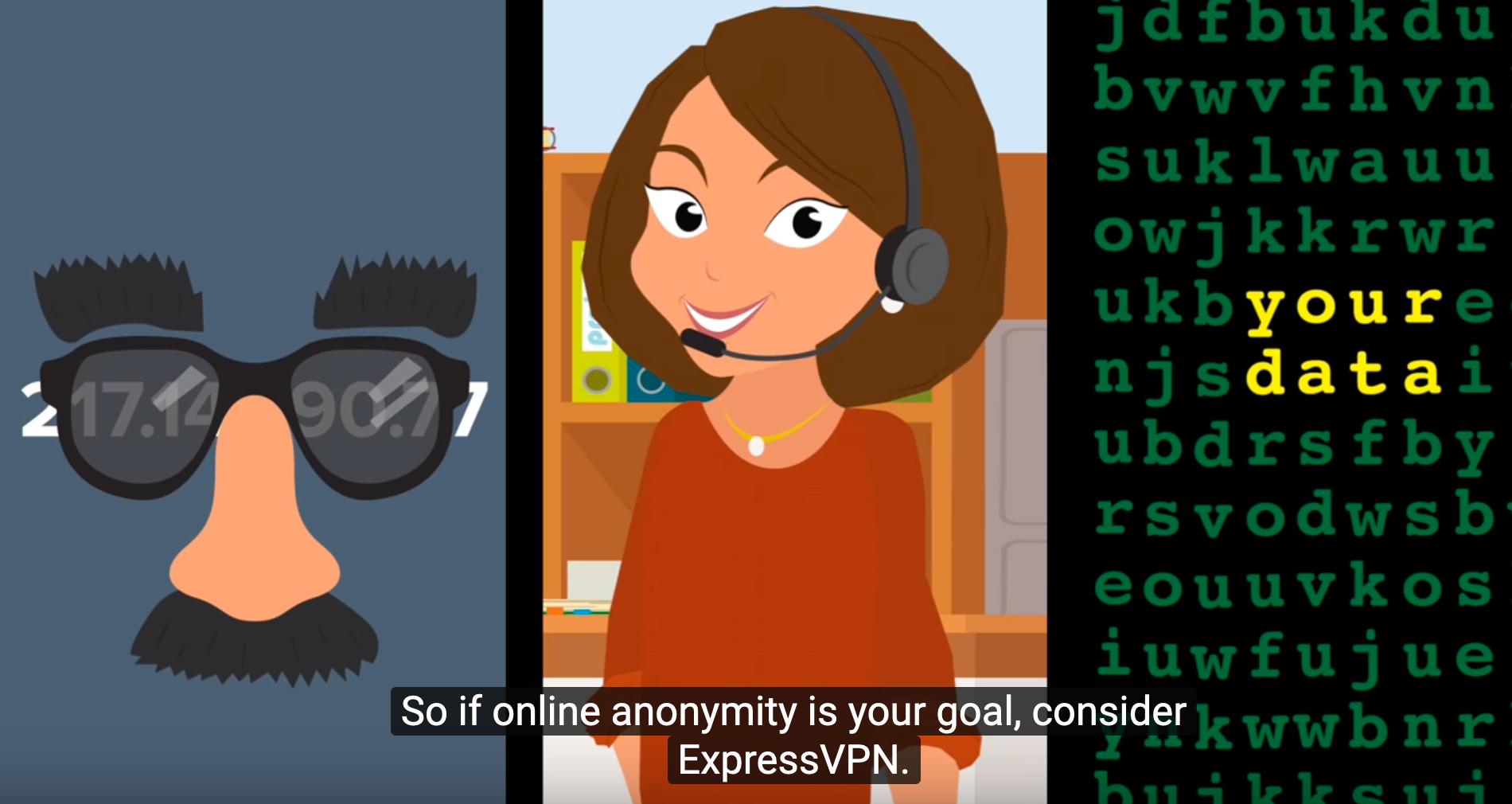 expressvpn promise of anonymity