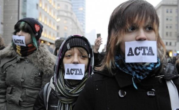 Europeans rage against ACTA
