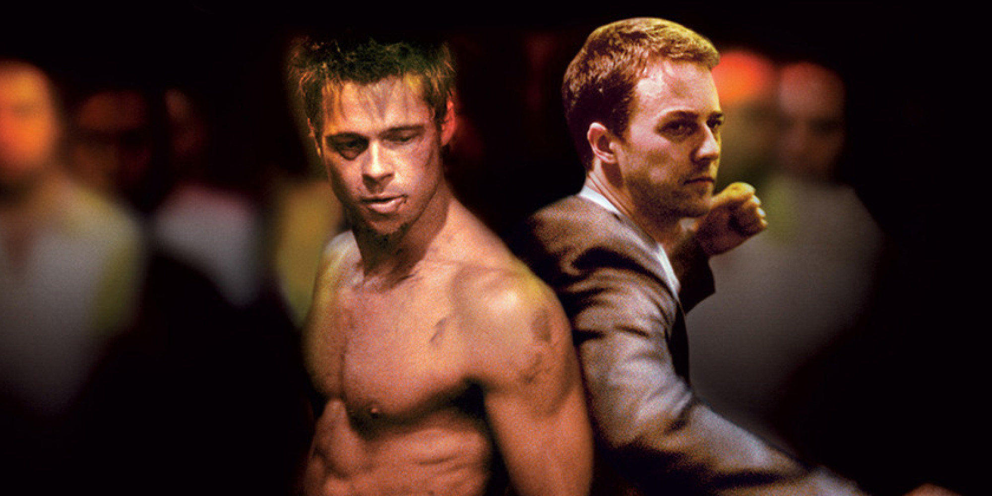 Fight Club (Brad Pitt and Edward Norton)