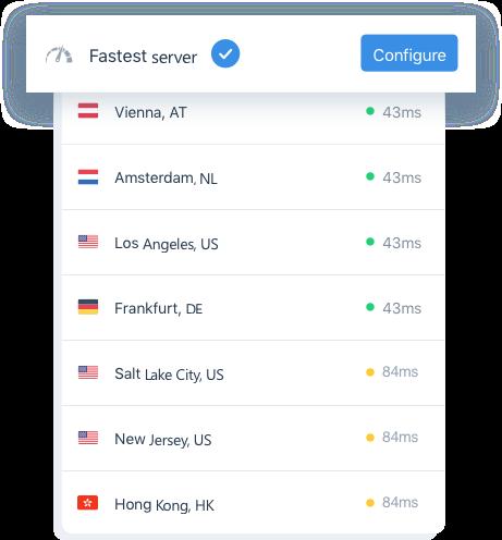 Fastest server